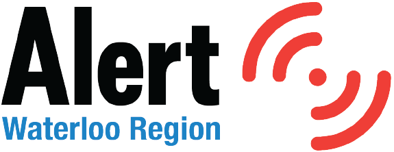 Alert Waterloo Region Logo Sticky Header
